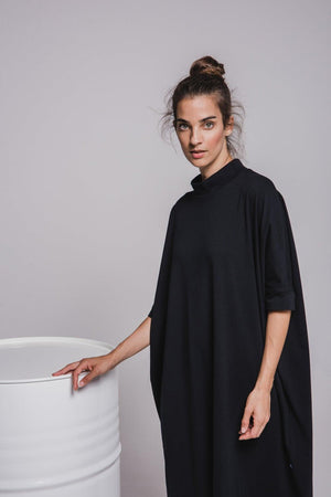 NON508 Short sleeve loose dress