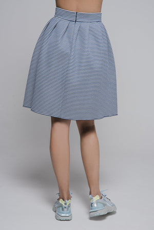 NON593 Pleated skirt