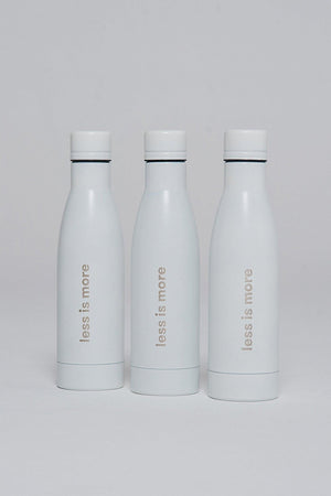 "NON01 ""Less is more"" bottle"