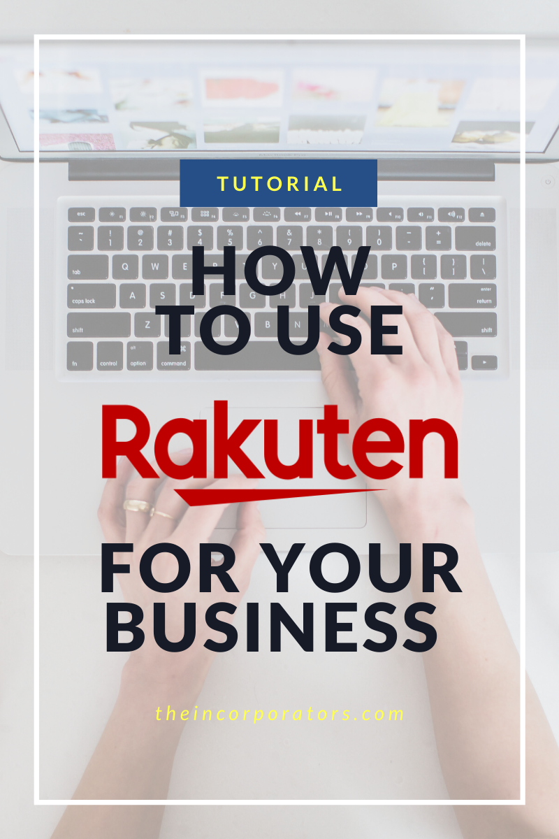 how to use Rakuten for your business
