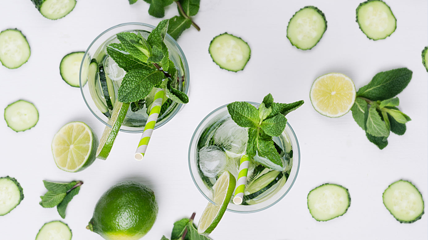 Garden To Table Mint Mojito Recipe