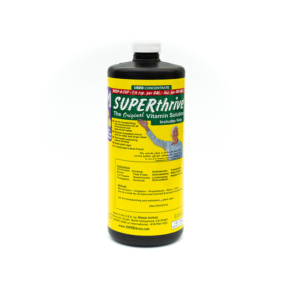 SUPERthrive 1 Quart Vitamin Solution with Kelp