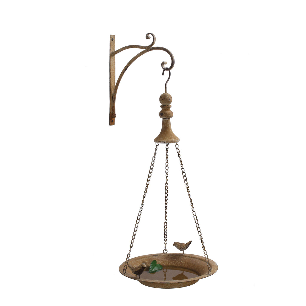 Metal Hanging Bird Feeder with Hook