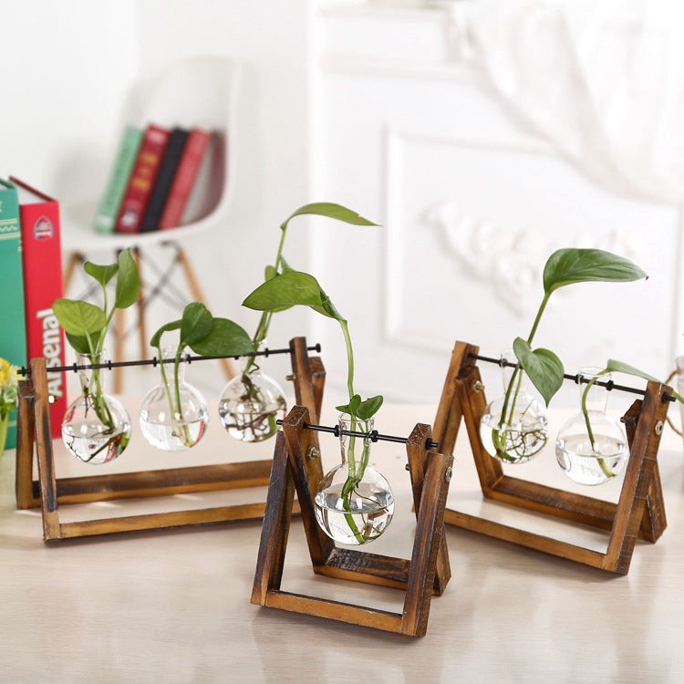 Glass Vase Swings