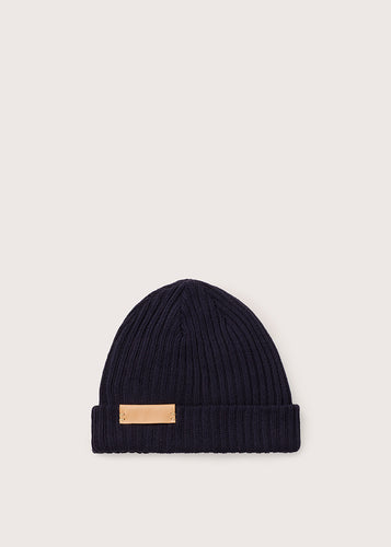 BEANIE SMALL - AUHTSBC_NVY