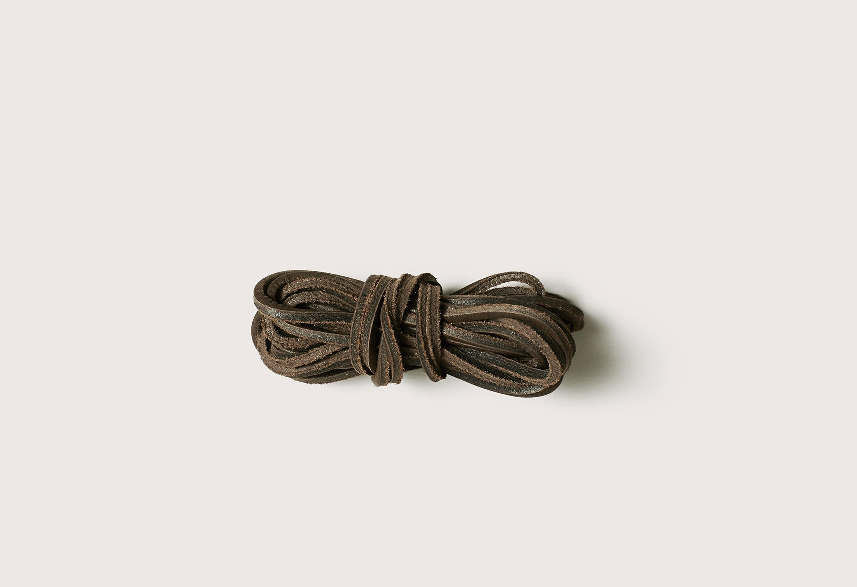 LEATHER LACES - SCLACEL_GRY