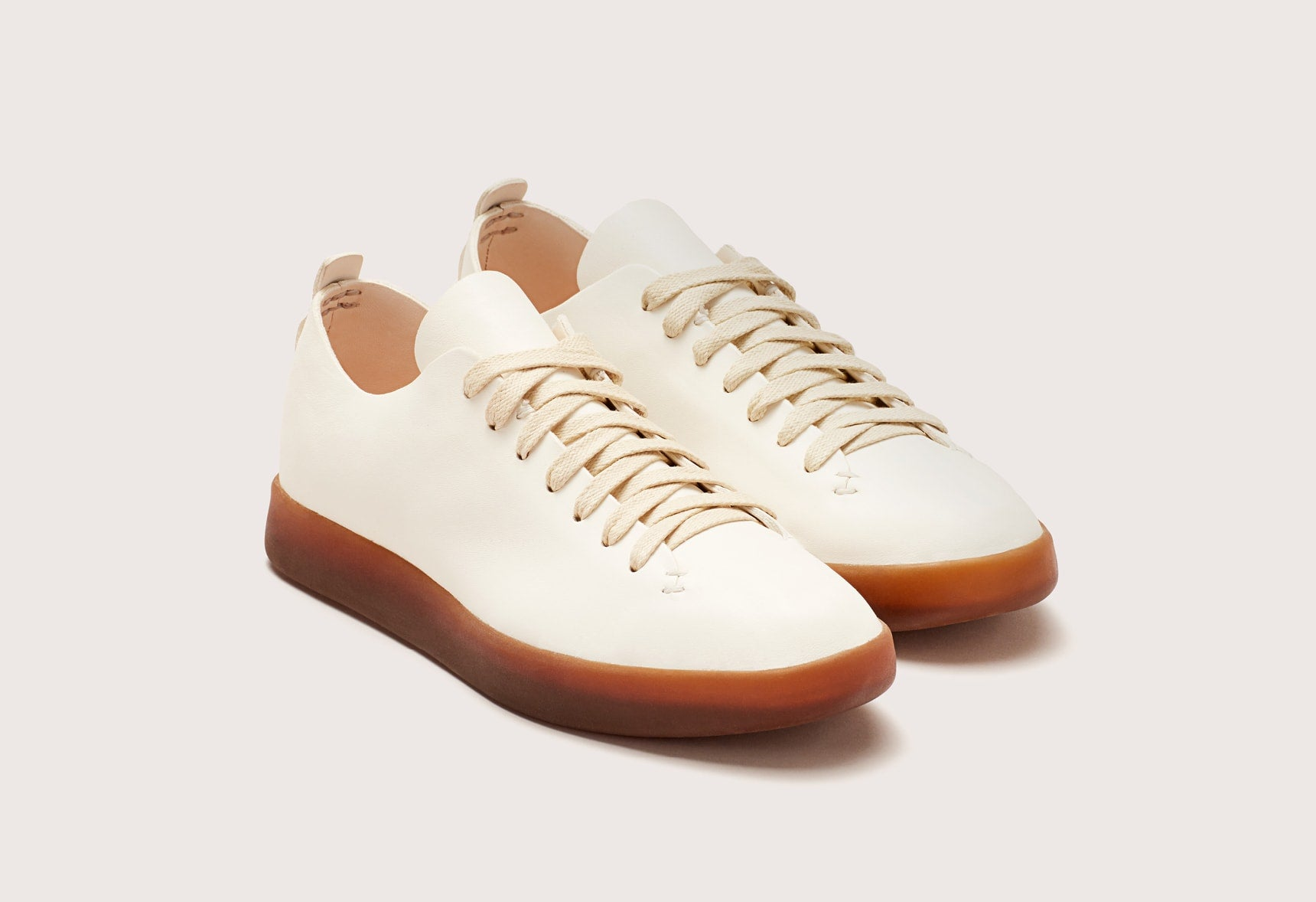 HAND SEWN LATEX LOW - MFHSLOX_WHT