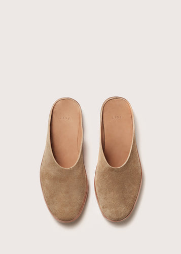 HAND SEWN BALLET MULE