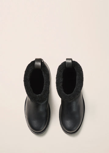 SHEARLING BOOT - WFSBTL_BLK