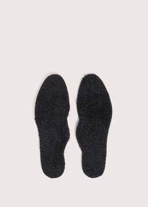 WOMEN'S WOOL FOOTBED - SCWFFBW_BLK