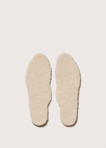 WOMEN'S WOOL FOOTBED - SCWFFBW_CREAM