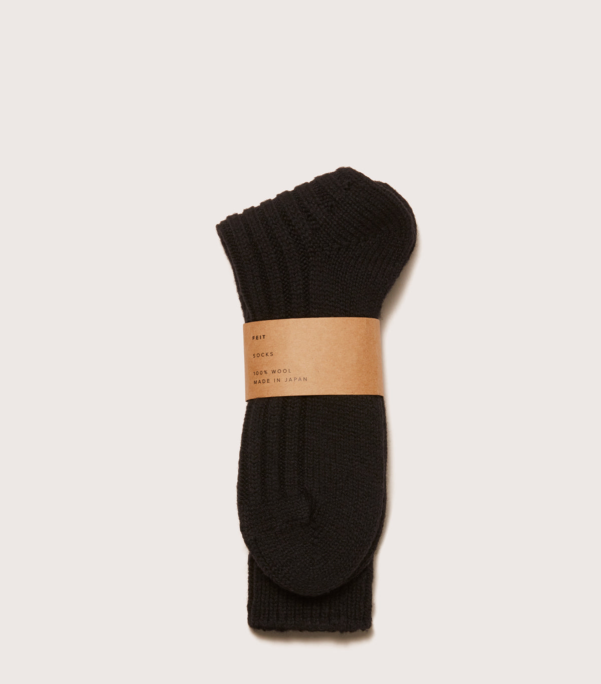 Wool Socks - AUSOCKLT_BLK