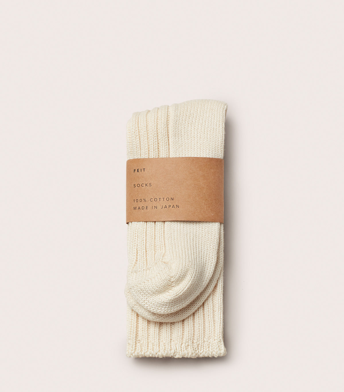 3 Pack Cotton Long Socks - AUSOCKJ3LC_NAT