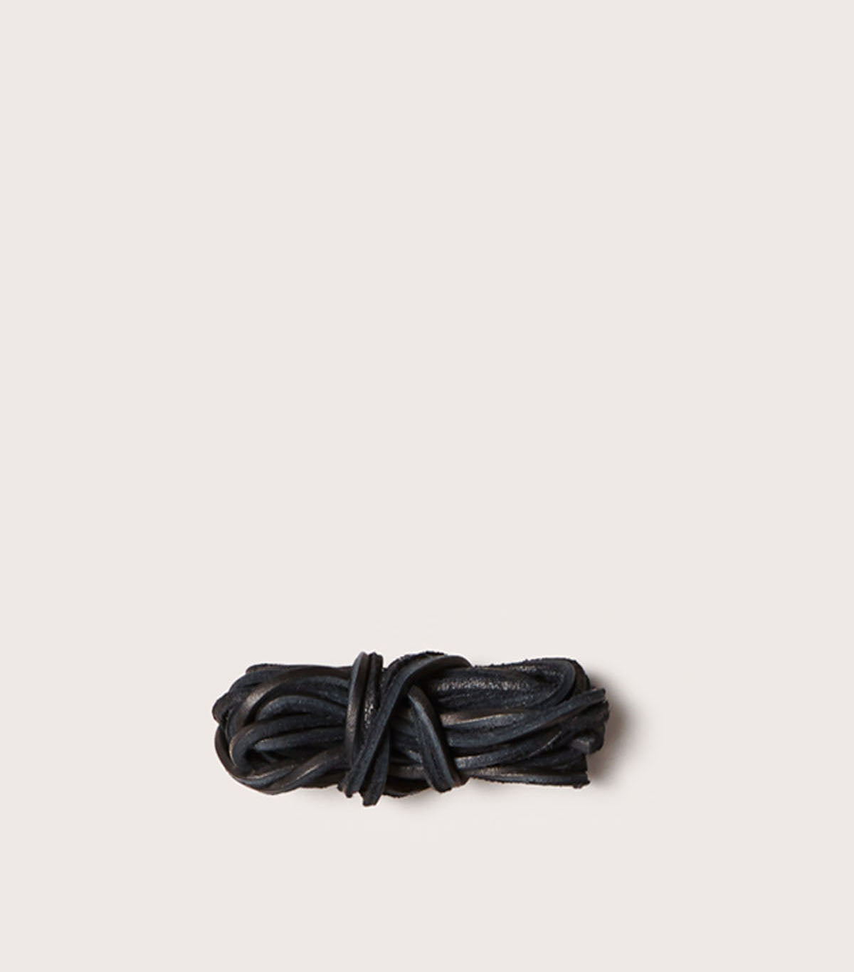 LEATHER LACES - SCLACEL_BLK