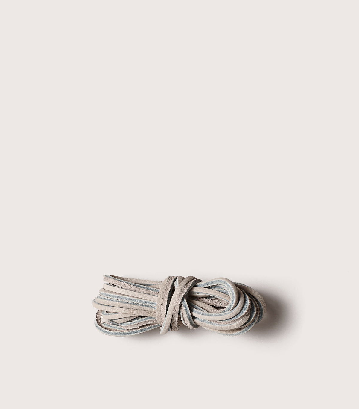 LEATHER LACES - SCLACEL_WHT