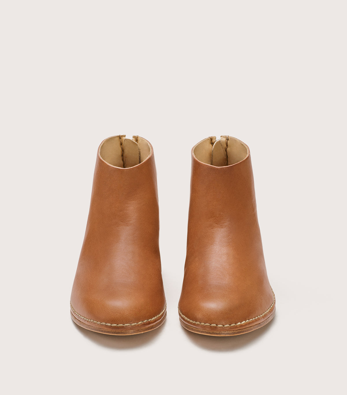 CEREMONIAL MID HEEL BOOT - WFCERMHBTH_TAN