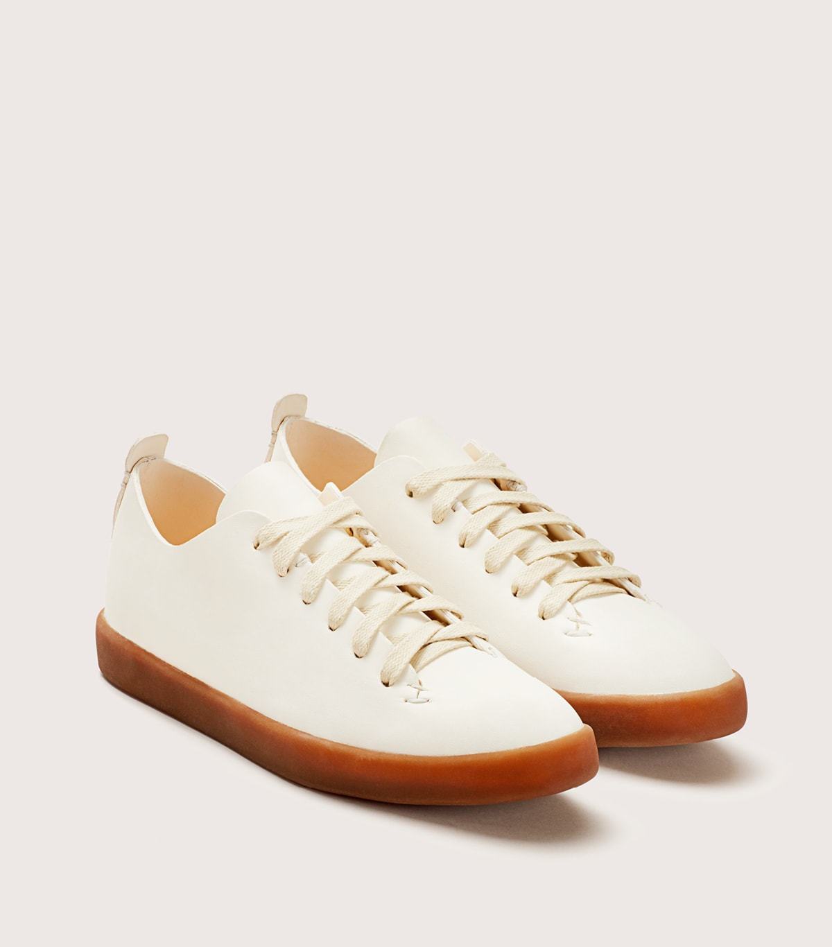 HAND SEWN LATEX LOW - WFHSLOX_WHT