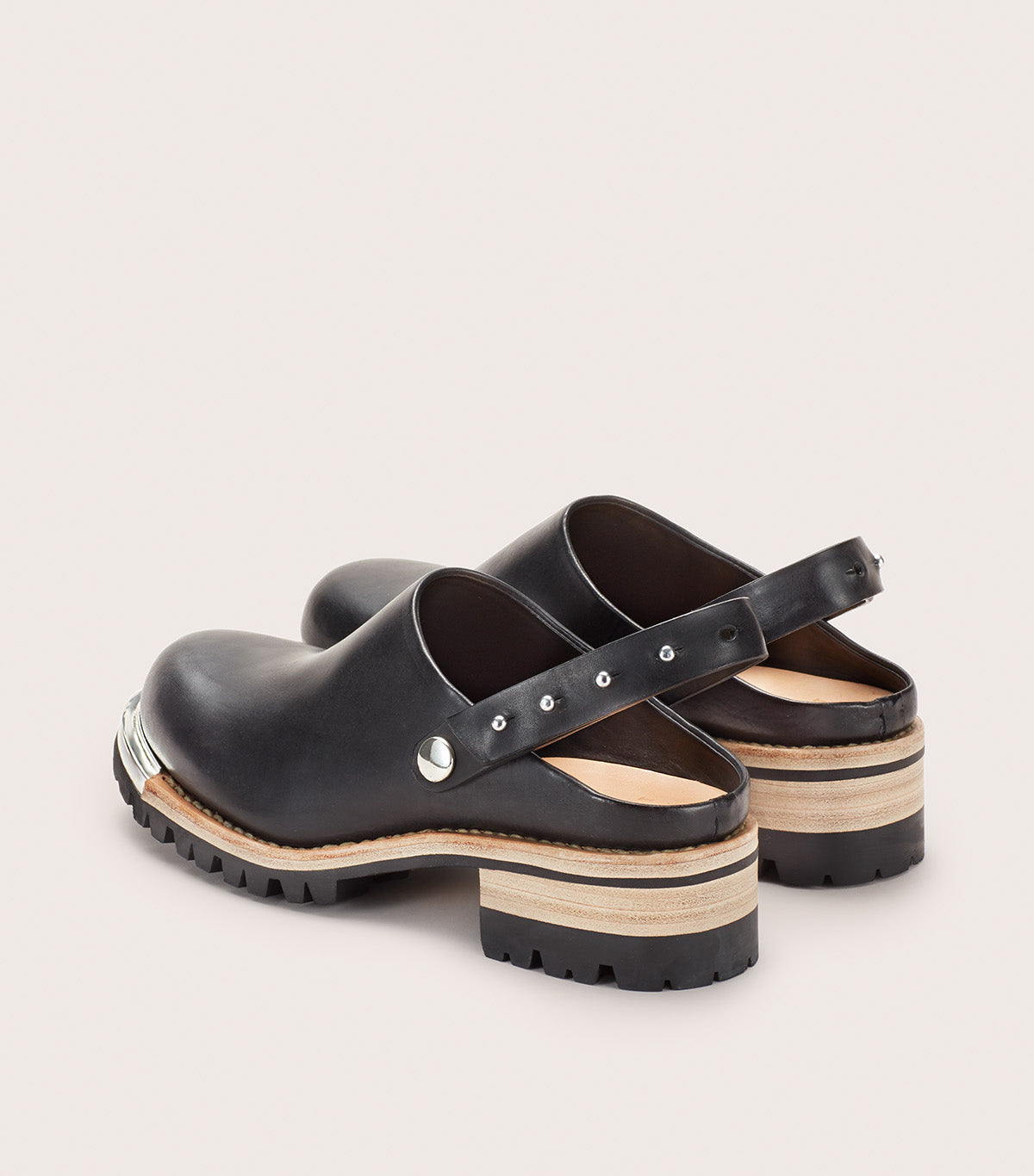 Metal Unlined Clog