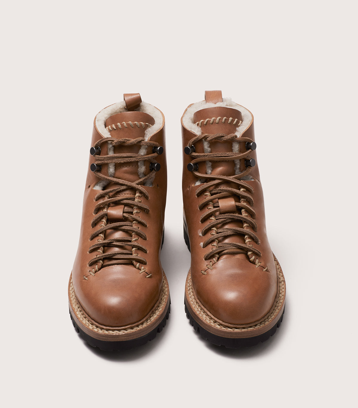 WHIPSTITCH HIKER WOOL - WFWHKWL_TAN