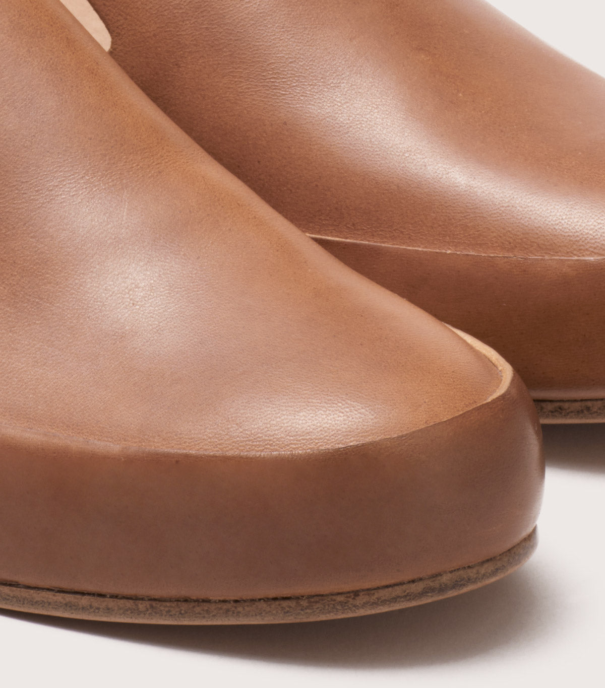 HAND SEWN SLIPPER - WFSLIPL_TAN