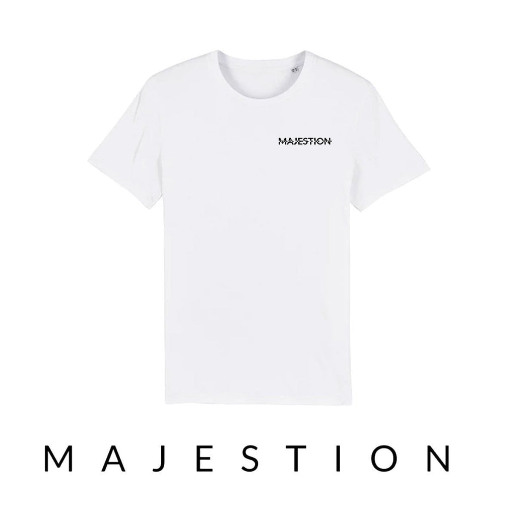 SIDE ARISTOCRACY - OFFSET WHITE & GRAY T-SHIRT