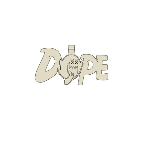 Dope King Boo Necklace