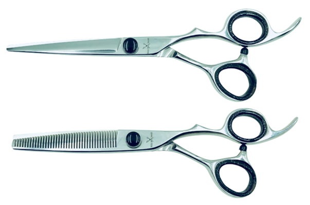 2 Elite Shears w/Traditional Handles; Swap for Sharp Shears Every 6 Months