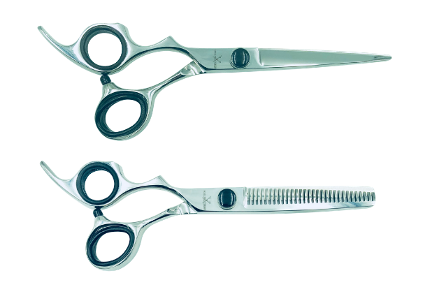 2 Premium Left-handed Shears w/Traditional Handles; Swap for Sharp Shears Every 4 Months