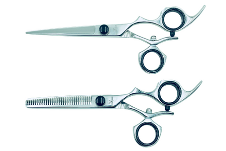 2 Premium Left-handed Shears w/Swivel Handles; Swap for Sharp Shears Every 6 Months