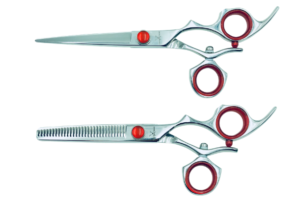 2 Premium Shears w/Swivel Handles; Swap for Sharp Shears Every 6 Months