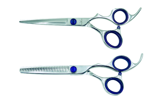 2 Premium Shears w/Traditional Handles; Swap for Sharp Shears Every 6 Months