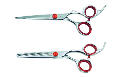 2 Premium Left-handed Shears w/Traditional Handles; Swap for Sharp Shears Every 6 Months