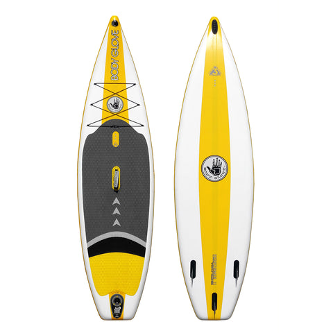 Performer 11 White/Yellow, ISUP - Surf9