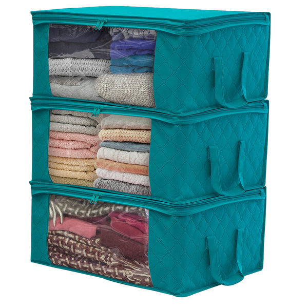 Storage Organize Bags (3-Pack) - Sorbus Home