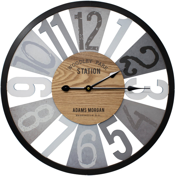 "Woodley Park 24"" Wall Clock"