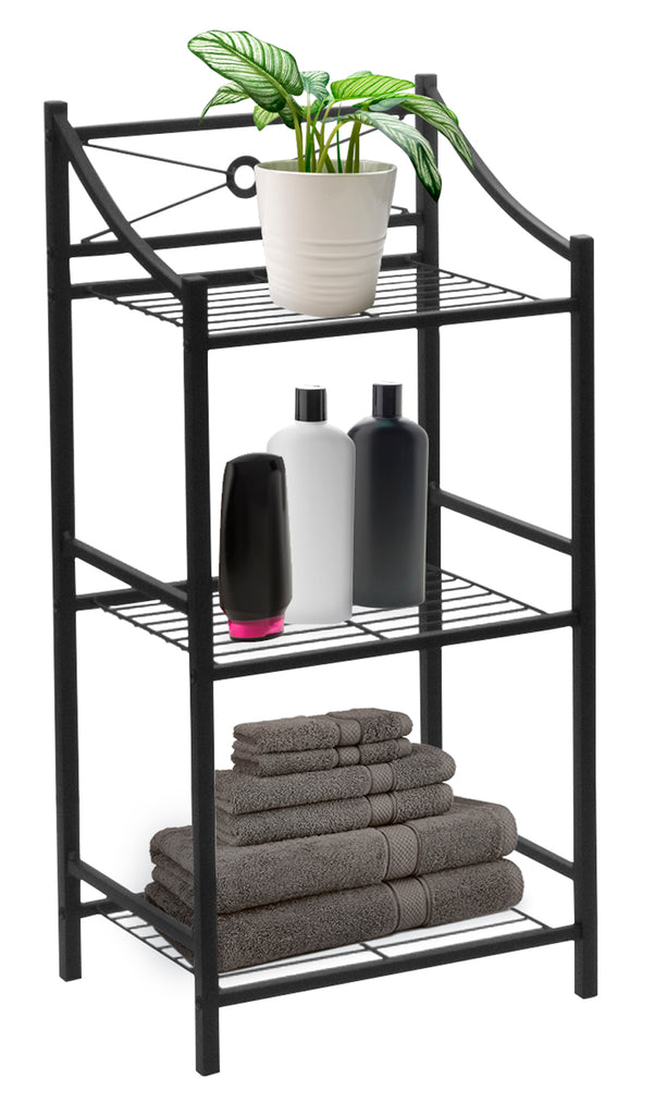 3-Tier Bathroom Shelf Stand - Sorbus Home