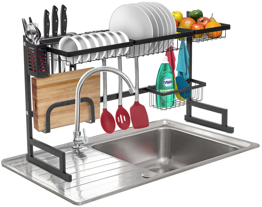 Over-The-Sink Dish Drying Rack - Sorbus Home