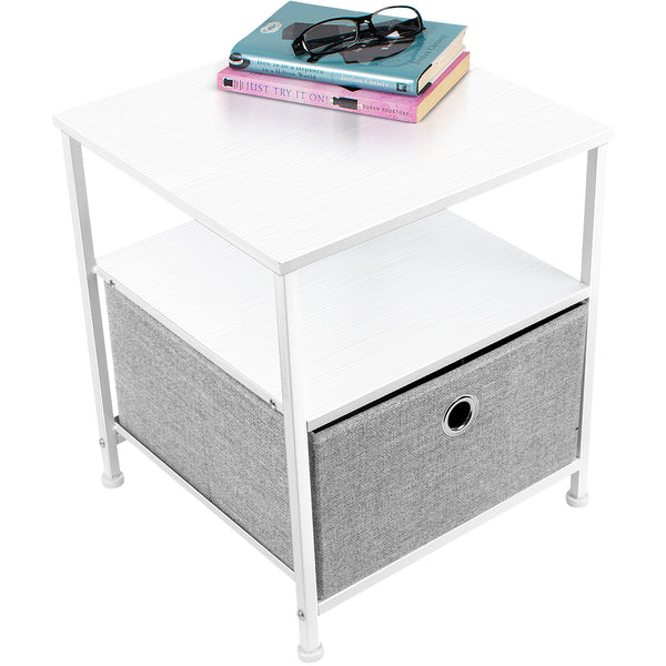 1-Drawer Nightstand Table - Sorbus Home
