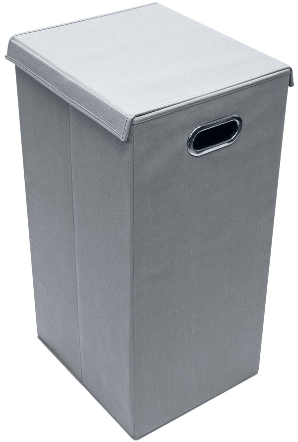Single Foldable Laundry Hamper with Lid - Sorbus Home