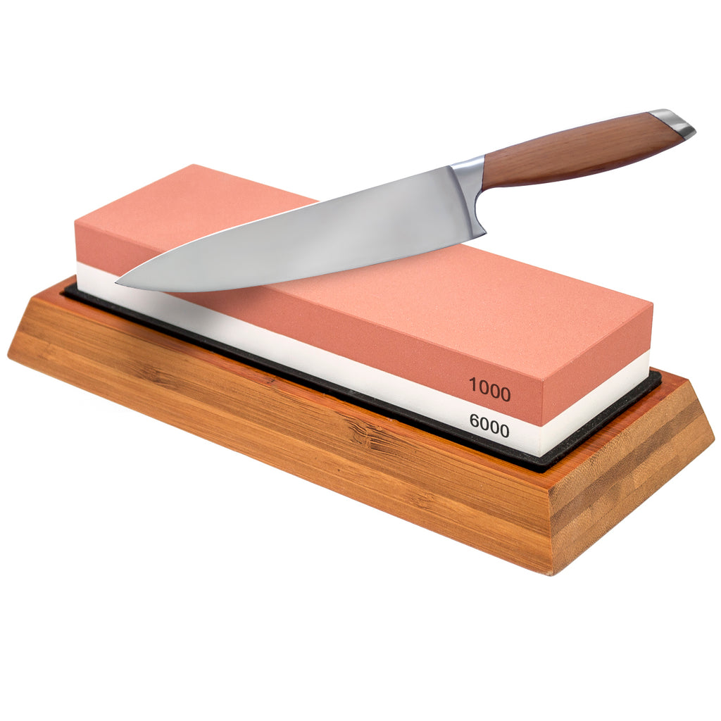 Knife Sharpening Stone-Double-sided Whetstone - Sorbus Home