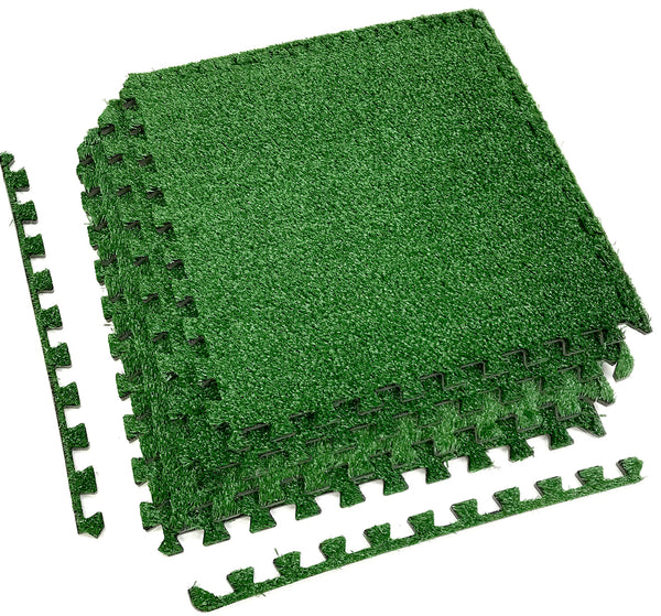 Interlocking Floor Mat - Grass - Sorbus Home