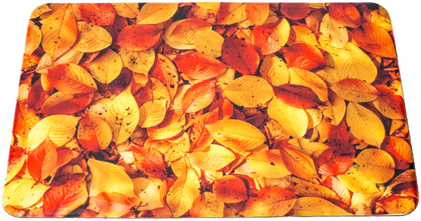 Leaf Print Floor Mat (Anti-Fatigue) - Sorbus Home