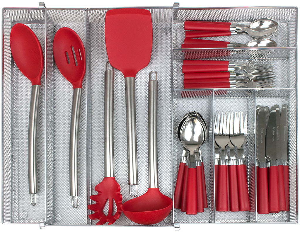 Expandable Cutlery Drawer Tray - Sorbus Home