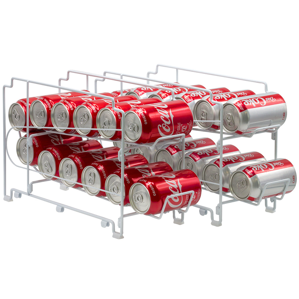 Stackable Soda Can Rack (24 Cans) - Sorbus Home