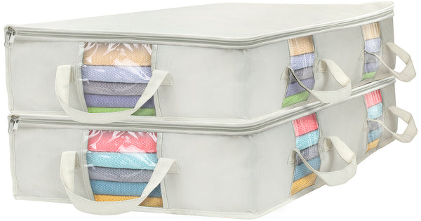 Underbed Storage Bag Organizers (2-Pack) - Sorbus Home