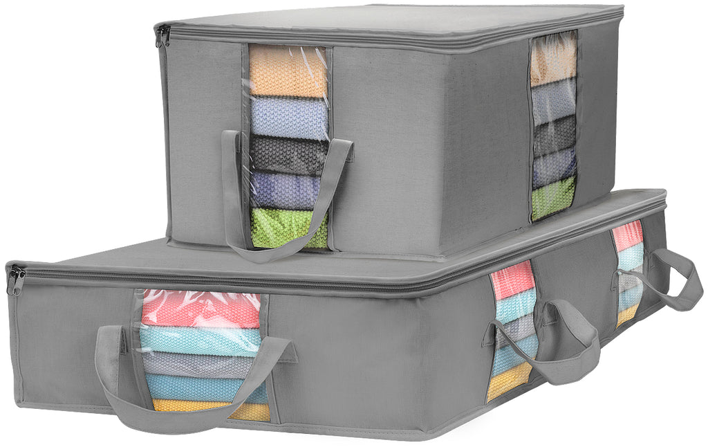 Storage Organizer Bag Set (2 Piece) - Sorbus Home