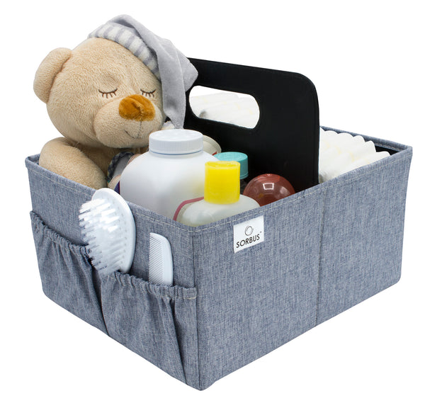 Foldable Nursery Diaper Caddy - Sorbus Home