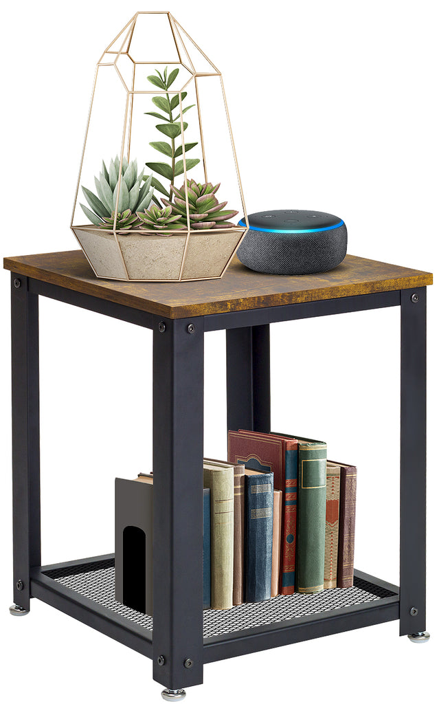 2-Tier End Table - Sorbus Home