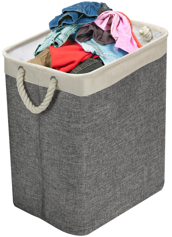 Laundry Hamper with Rope Handles - Sorbus Home