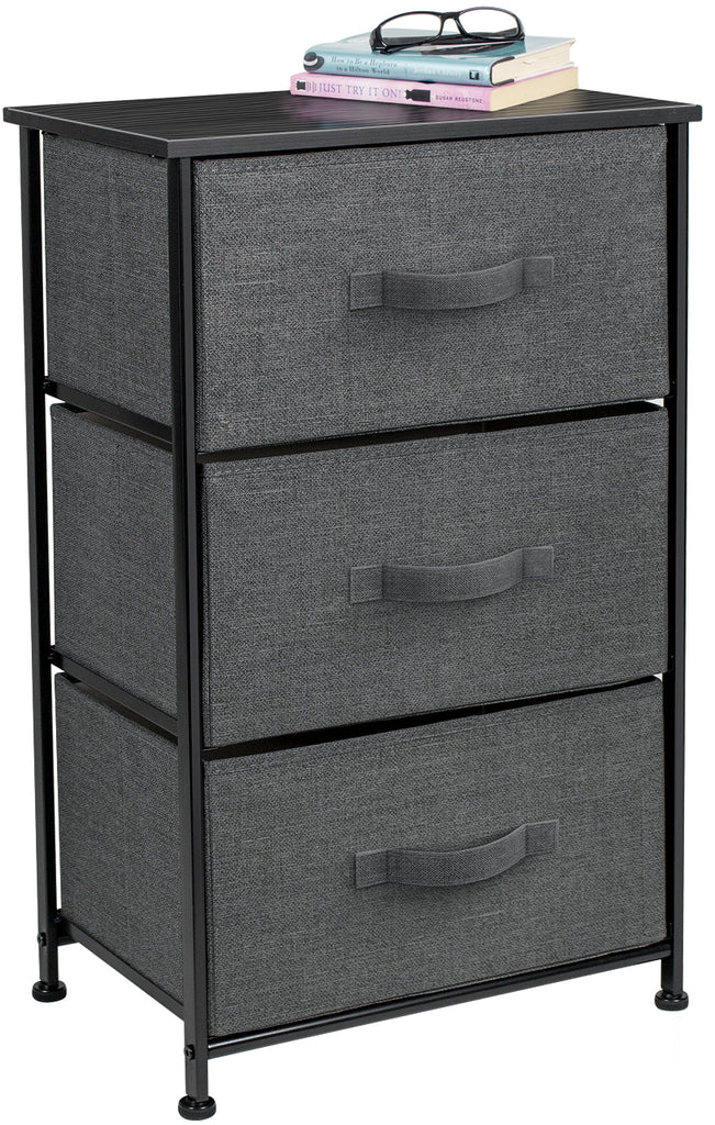3-Drawer Nightstand Chest - Sorbus Home